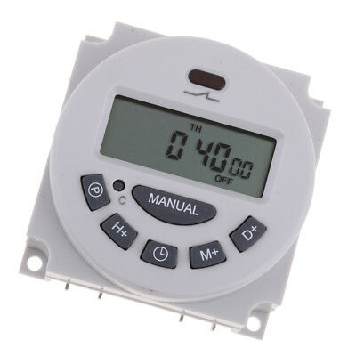 DC 12V Digital LCD Programmable Timer Time Switch Relay