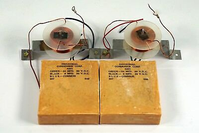 Acoustic Research AR3 Crossover Parts, 1967, Condensers, Coils