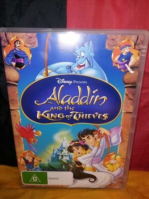 Aladdin And The King Of Thieves (DVD, 2013)