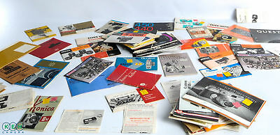 50+ Vintage Camera Instructions and Information Booklets