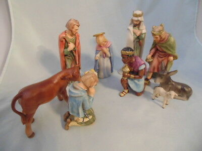 Goebel West Germany Nativity Set 10 Pieces