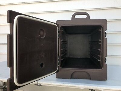 Cambro Insulated Food Sheet Pan Carrier Half Size Hot Delivery Transport #2
