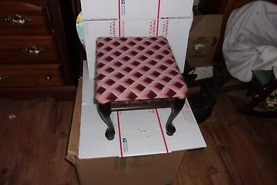 Foot Stool Vintage 50s  (CFD)
