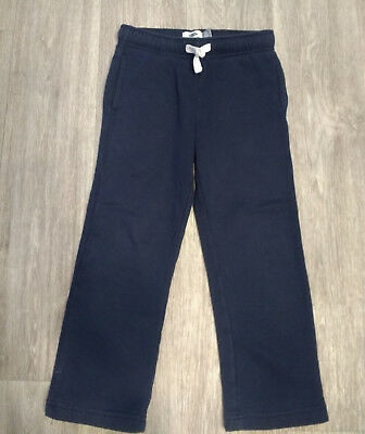 Old Navy sweatpants Girl or Boy Navy Blue drawstring front Size 6-7