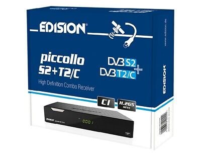Edision Piccollo S2+T2 Hevc 265 Combo Full Hd