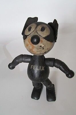 Very Rare 1920's Felix the Cat Schoenhut 8 inch Collectible Wooden Doll