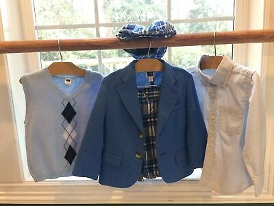 Janie and Jack short and blazer suit size 2