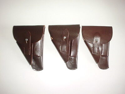 GERMAN ARMY WWII WW2 repro WALTHER PPK, HSC, brown holster 1939 Czech made