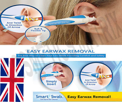 Smart Earwax Removal Remover Soft Spiral Ear Cleaner Multifunctional Swab Easy