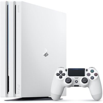 Sony PlayStation 4 Pro 1TB Limited Edition Console Only - White