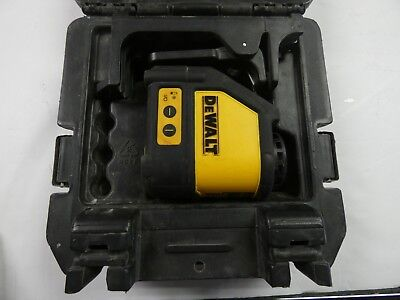 Dewalt Dw087 Self Leveling Line Laser With Mount And Case