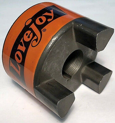 "Lovejoy Jaw Coupling Hub 100 L-100 L100 7/8"" .875 Bore ID USA Martin Type NEW"