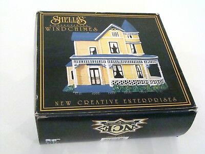 Shelia's Collectibles NCE Victorian House Wind Chimes Model Victoria #15041 NEW