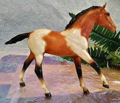 vintage Breyer 237 BAY PINTO STOCK HORSE FOAL 1984-86 Bay Tobiano retired