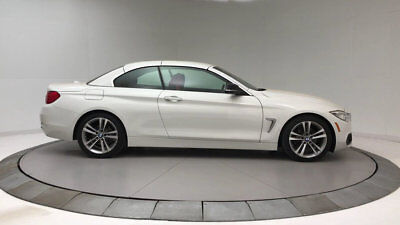 BMW 4 Series 428i 428i 4 Series 2 dr Convertible Automatic Gasoline 2.0L 4 Cyl WHITE