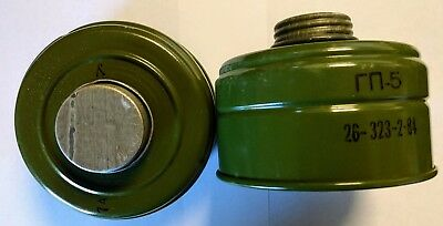 2 PACK Gas Mask Filter M65Z NBC Fits German Gas Mask M65Z US NATO Seller Surplus
