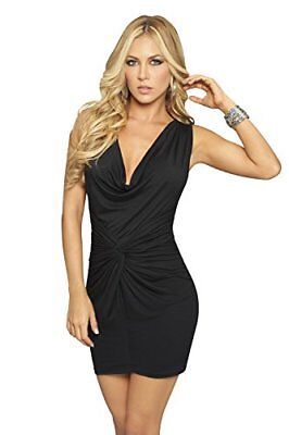 (TG. XL)  Colore taglia AM PM In Espiral 4807 Black Dress XL
