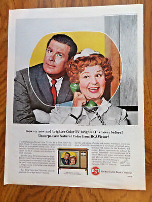 1964 RCA TV Television Ad  on the Tube Hazel Starring Shirley Booth Don Defore