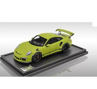 New Ultra Rare 1/12 Spark 2015 Porsche 911(991) GT3 RS Green 100pcs 1/18 1/43