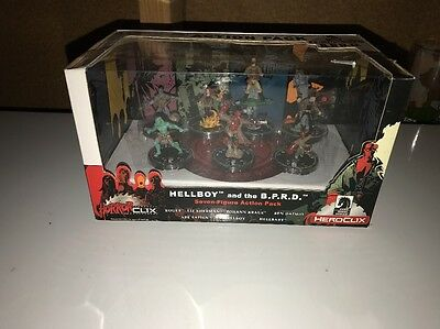 2007 Horror Clix Hellboy And BPRD Figure Action Pack NiB