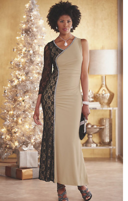 bf895ef59c ASHRO BLACK FORMAL Gown Royce Dress Dinner Party Cruise Event Tie 1X ...