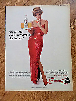 1964 Smirnoff Vodka Ad  Julie London Star of Stage Screen and Television