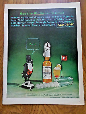 1965 Old Crow Whiskey Ad Golfing Theme 1965 Ford Cortina Coupe Ad Iceberg