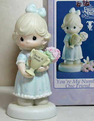 Precious Moments Figurine - pm 530026, You're My Number One Friend w/box