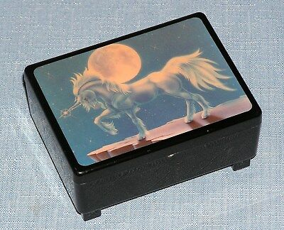 Unicorn Music Box The Way We Were from The Plactory Santa Cruze CA vintage USA