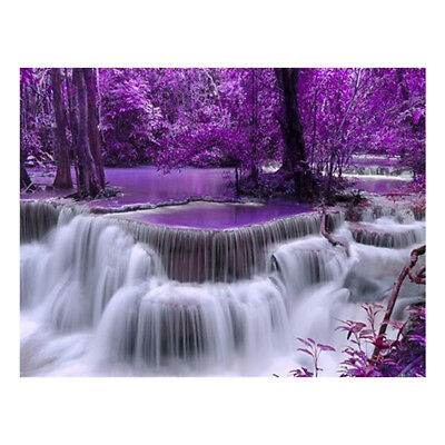 Full Drill Waterfall DIY 5D Diamond Painting Embroidery Cross Stitch Home Decor