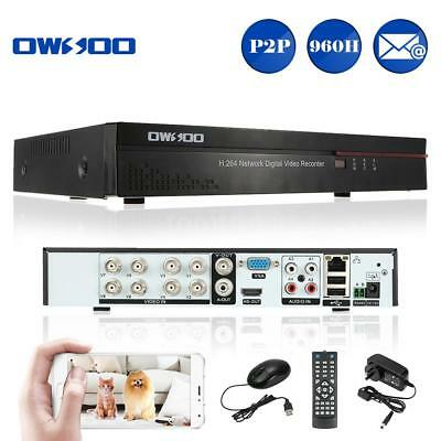 OWSOO 8CH Full 960H D1 H.264 P2P Network DVR CCTV Security Motion Detection X4M7
