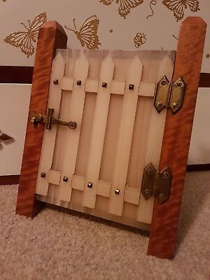 Rare Antique Victorian Chalcedony picture frame gothic style opening gate c1820