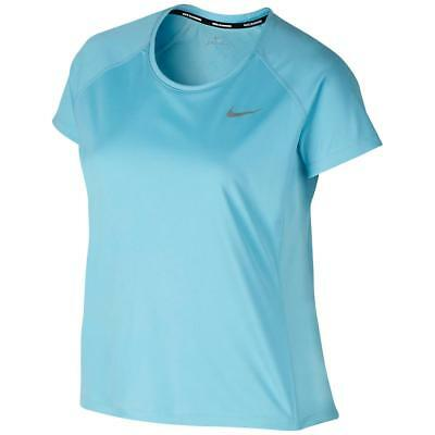Nike 2499 Womens Blue Performance Pullover Pullover Top Athletic Plus 1X BHFO