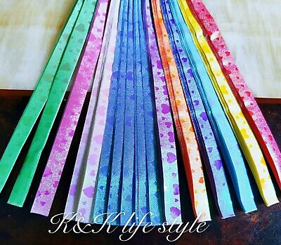 80 pieces, 10 color comb with rose pattern ORIGAMI LUCKY Stars -4 creative hands