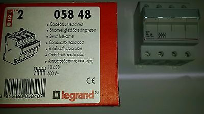 Legrand 05848 Fuse Holder Carrier 10X38Mm 4 Pole