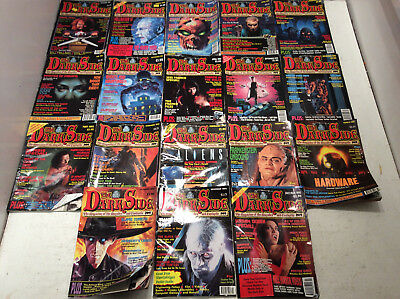 The Dark Side Magazine Of The Macabre & Fantastic X 18 1990-1993 USED Good(HC/D)