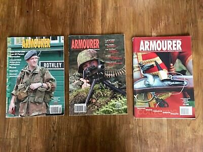 Armourer Magazines, issues 64, 66 and 67