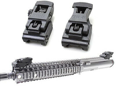 Folding Front & Rear Flip-up 71L-F/R Set Front & Rear Sight Set For Hunting