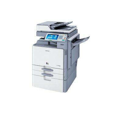 Samsung Multixpress C9350DN Color Copier Printer W/ 3,250 Sheet Finisher- No HDD