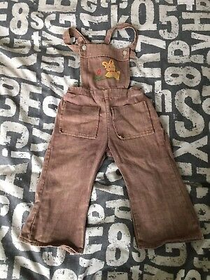Vintage  70s Baby Dungarees