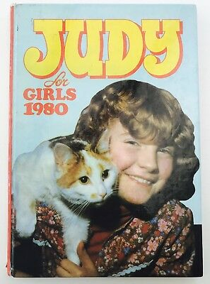 JUDY FOR GIRLS 1980 - Vintage / Retro Girls' Comic Annual - Unclipped *