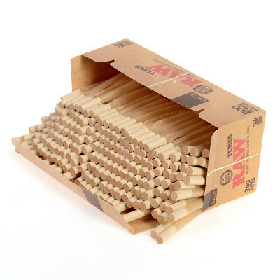 1x Box RAW Classic Cigarette Tube KING SIZE ( 200 Tubes Total ) Natural Unrefine