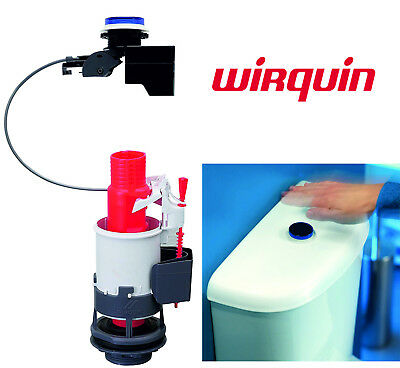 Wirquin WC Tronic 2 Infrared Activated No Touch Hands Free Dual Flush Valve