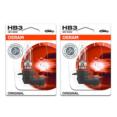 2x Vauxhall Zafira MK3/C Genuine Osram Original Low Beam Headlight Bulbs Pair