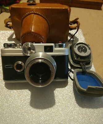 ===>> Very Nice Argus - C44 - Leather Case And Light Meter <===<