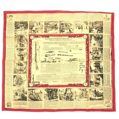 French Pre-WWI Soldier Scarf- French 1886 Lebel Schematic