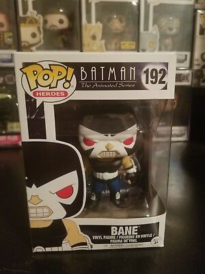 Funko Pop! Heroes Batman The Animated Series Bane #192 Vinyl Figure W/ PROTECTOR