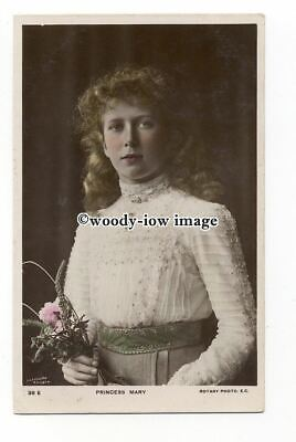 r2286 - H.R.H. Princess Mary holding bouquet of Flowers - postcard