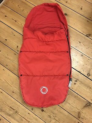 Bugaboo Bee 2 Cosytoes / Foot Muff Red