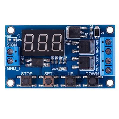 Trigger Cycle Timer Delay Switch Circuit Board MOS Tube Control Module 12 24V